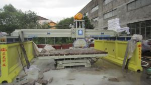 Laser Bridge Saw Cutting with Steel Basement (ZDH-600A) pictures & photos