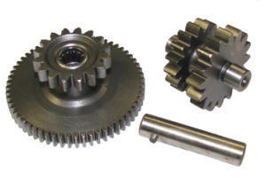 OEM CNC Machining Stainless Steel Engine Vertical Motor Starter Drive Idler Ring Gear pictures & photos