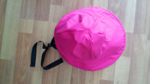 Pink PU Raincoat for Adult pictures & photos