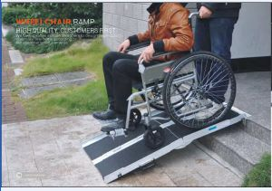 Popular in EU Aluminum Ramp for Wheel Chair with Ce pictures & photos