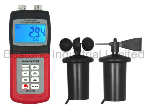 Multi Anemometer, Wind Direction, Air Velocity, Wind Speed Meter, Thermometer, Anemograph, Weather Analysis Am-4836c pictures & photos