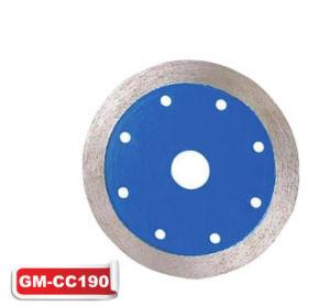 Diamond Sintered Continuous Rim Blade (GM-CC190) pictures & photos
