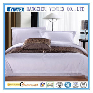 Hotel 100%Cotton Bedding Sheet Sets pictures & photos