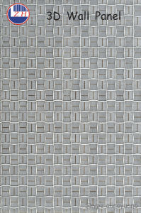 Hotel Decorative 3D Texture Wall Panel pictures & photos