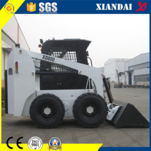 Tipping Load 1600kg Skid Steer Loader Xd800 pictures & photos