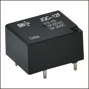 Subminiature High Power Electromagnetics Relay (JQC-12FF)