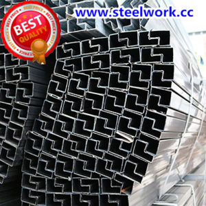 ERW Galvanized/ Annealing Welded P-Shaped Steel Pipe (T-08)