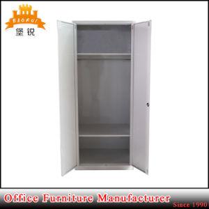Metal Bedroom Furniture 2 Door Steel Closet Locker Wardrobe pictures & photos