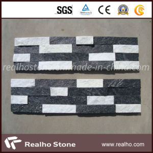 Black and White Mixed Culture Stone for Wall Cladding