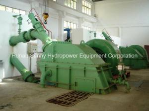 Horizontal Hydro (Water) Pelton Turbine Cj237/ Hydropower Turbine Generator pictures & photos