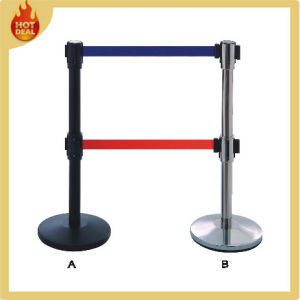 Crowd Control Stanchion Retractable Queue Pole pictures & photos
