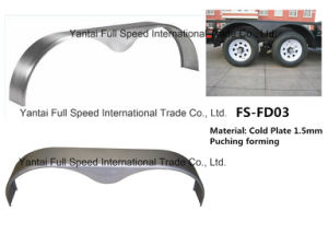 Trailer Parts Fender Trailer Mudguard Made of Steel Stamping Forming