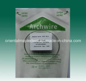 Orthodontic Reverse Curve Niti Archwire Round Type Oval Form pictures & photos
