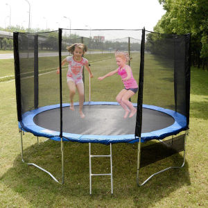 14FT Trampoline Tent with Safety Net pictures & photos