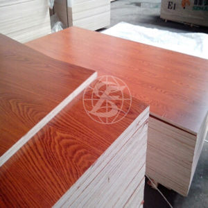 Melamine Faced Plywood for Furniture and Decoration pictures & photos