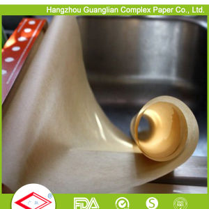 Double Sides Silicone Coated Oven Paper for Baking Tray Lining pictures & photos