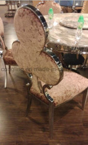 Clubs High Back with Fabric Dining Chair for Home Designs pictures & photos