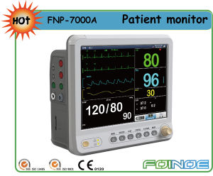 Pm7000A CE Approved 12.1 Inch Multi Parameter Handheld Patient Monitor pictures & photos