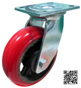 Heavy Duty PU on Iron Caster (Swivel) pictures & photos