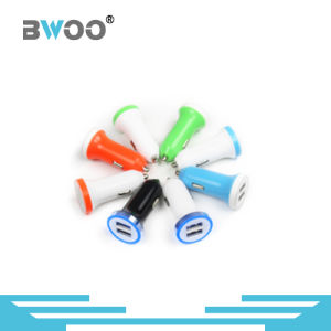 5.0V\2.4A Colorful USB Car Charge for Mobile Phone pictures & photos