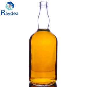 750ml Flint Glass Whisky Bottle with Tamper Evidence Cap pictures & photos