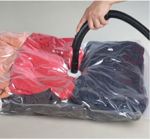 Nylon/PE Plastic Flat Vacuum Storage Bag pictures & photos