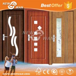 Frosted Glass Bathroom Door, HDF Interior Door, PVC Door pictures & photos
