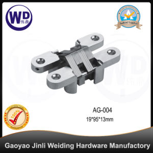 Zinc Alloy Concealed Gate Door Hinge, Cross Hinge AG-004 pictures & photos