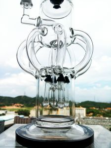 Top Selling Recycle Glass Water Pipe Enjoylife Stock Smoking Pipe Bend Recycle Smoking Pipe Oil Rigs Glass Bubbler Klein Glass Water Pipe pictures & photos