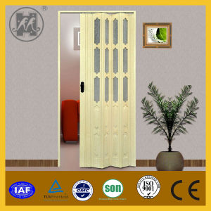 China Products Hot Sale Bathroom PVC Sliding Door pictures & photos