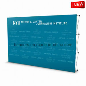 Display Stand, Pop up Polyester Backdrop Banner pictures & photos