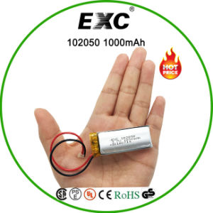 105020 1000mAh Battery Rechargeable Li-Po Battery pictures & photos