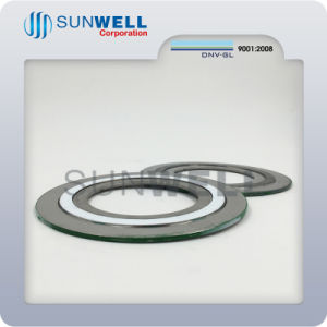 High Quality Ss 304 Spiral Wound Gasket with Inner and Outer Ring pictures & photos