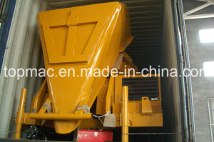 Self Loading Diesel Concrete Mixer with Hydraulic Hoist Hopper pictures & photos