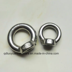 China Manufacturer Stainelss Steel Eye Screw Eye Bolt Nut, Anchor Eye Bolt pictures & photos