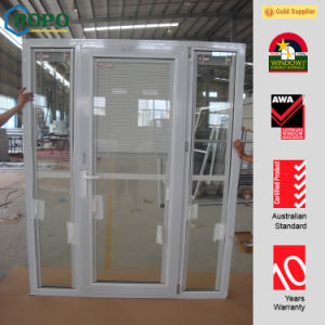 Energy Efficient Design PVC Doors with Both Sidelight pictures & photos