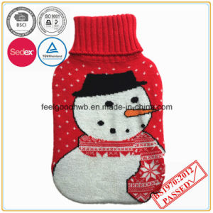 Christmas Design Hot Water Bottle Cover pictures & photos