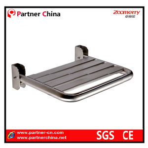 Stainless Steel Folding Shower Seat for Elderly/Disabled (08-003) pictures & photos