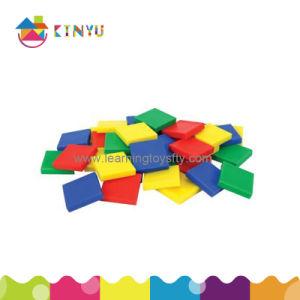 Plastic Inch Color Tiles (K011) pictures & photos
