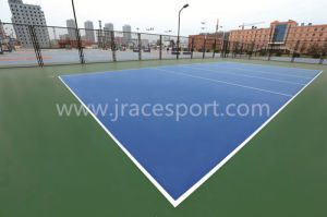 High Elastic Rubber Tennis Court Covering pictures & photos