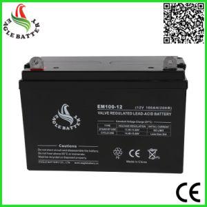 12V 100ah VRLA Solar Lead Acid Battery pictures & photos