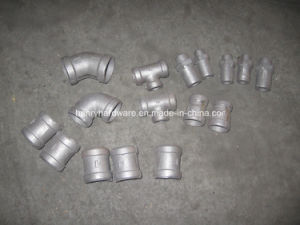 Ductile Iron Castings for Pipe Fittings pictures & photos