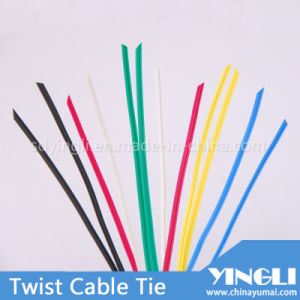 Variety Color PE Twist Cable Tie pictures & photos