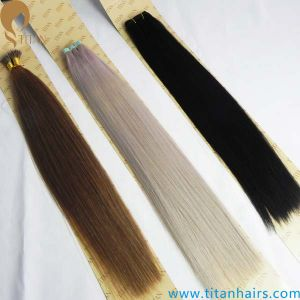 Indian Virgin Remy Tape #60 Nano Ring Hair Extension (TT333)