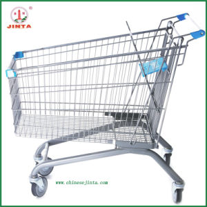 210L Big Capacity Metal Shopping Trolley Hand Cart (JT-E04) pictures & photos