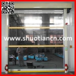China High Quality High Speed Door Supplier, PVC Fast Speed Shutter Door Manufacturer Guangzhou (ST-001) pictures & photos