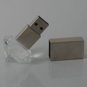 Shinny Diamond Crystal USB Flash for Promotional Gifts pictures & photos
