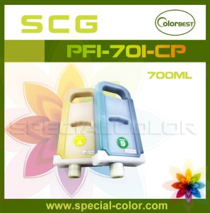 OEM Pigment Ink Cartridge for Canon Series Printer (PFI-701-CP) pictures & photos