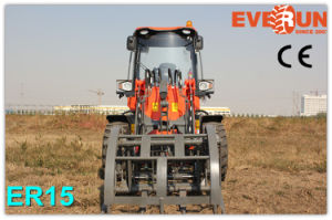 1.5 Ton Everun Chinese Wheel Loader Small Garden Loader with Easy-Damaged Spare Parts pictures & photos