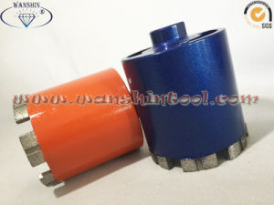 Concrete Dry Drill Bit Diamond Tool Diamond Core Drill Bit Green Concrete Core Drill Bit pictures & photos